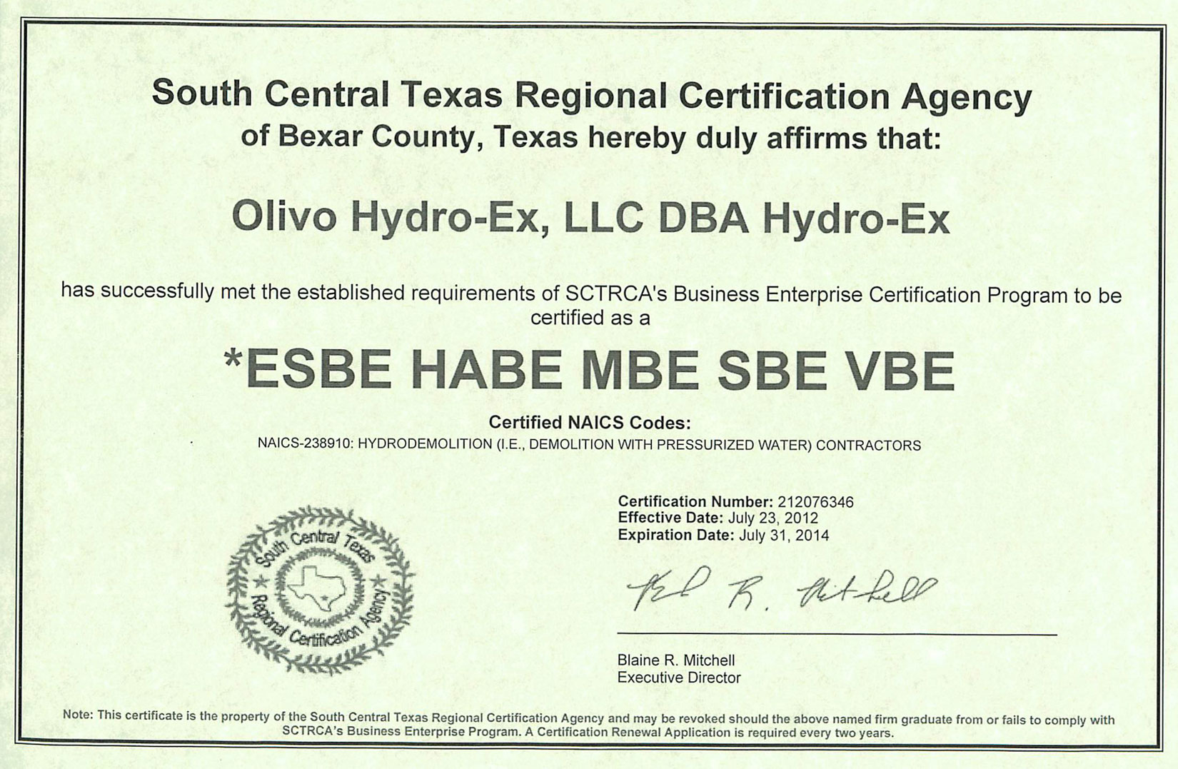 Surveying hydro ex llc certifications click on the each logo to view certifications xflitez Gallery